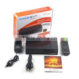 Original Freesat V7 Combo 1080P DVB-S2+T2 HD Satellite Receiver Support Powervu Biss Key 3G USB WIFI Youtube