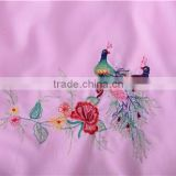 polyester bedding sets with embroidery & various color to select