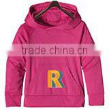 Kids girls hoodies cotton Toddler purple cotton pullover child girls clothes sweatshirt