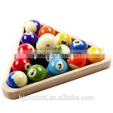 High grade Wooden snooker ball triangle/ Factory promotion