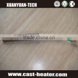 Stainless steel electric finned tubular immersion heater