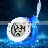 New arrival!! Temperature function water powered thermometer desk clock