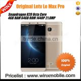 "2016 NEWEST LETV Le Max Pro X910 Octa Core 6.33"" Mobile Phone Snapdragon 820 4GB RAM 64GB ROM Fingerprint"