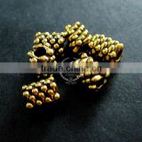 5x6mm vintage antiqued gold tube engraved alloy beads spacer,stopper with 3mm hole size DIY beading supplies 3996009