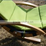 Outsunny Outdoor Hanging Sky Swing Chair w/ Stand - Green