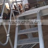 galvanized ball joint handrailing/galvanized hand rails/galvanized steel stair handrailing
