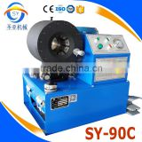 SY-90C rubber pipe/steel tube /wire rope high pressing used crimping machine hydraulic hose