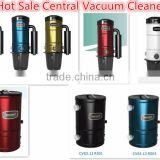 Central dry clean machine 2014 high power electric vacuum cleaner system with USA motor system