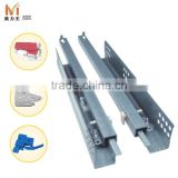 Other Furniture Hardware Type 2 Fold Undermount Self Soft Close Drawer Slides