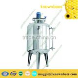 Vacuum mixing filter defoaming honey storage tank/Vacuum Filtering Defoaming Tank with cheap