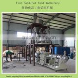 1ton/h automatic floating fish feed pellet processing machine