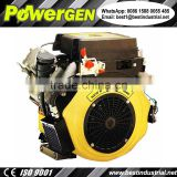 Best Seller !!! POWERGEN Air-cooled V Twin 2 Cylinder V2 Diesel Outboard Engine 25HP