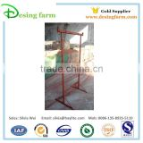 Adjustable steel scaffolding trestle