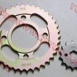 YOG motorcycle spare parts sprocket kit for CG125