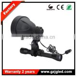 Inquiry about portable led spotlights 10W 140mm reflector rechargeable hunting spotlight