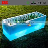 square rectangular cooler lighting up ice bucket new GH202