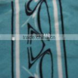 Polyester spandex ITY jersey print fabric