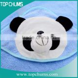 Competitive Price China manufacturer 100% cotton baby hooded towel/ children poncho towel