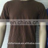 bamboo and cotton men tee shirt