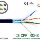 FTP cat6  LAN CABLE 23awg copper conductor 250mhz