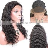 Hot selling promotion price virgin brazilian kinky curly hair wig