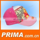 2017 wholesale pink sport baseball caps hats for children