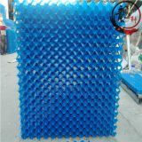 Suspended Cooling Tower Fill White Pvc Filler 0.5mm Thickness