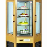 For Fast Food Outlets Cooling Display Cabinet For Meats And Cheeses