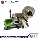 Semi auto flat bottle labeling machine