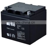 Free Maintence Lead Acid Battery 12v 38ah Valve Regulated UPS Battery 12V 38Ah Telecom Battery