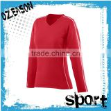 Wholesale fashion plain long sleeve volleyball jerseys for women                                                                                                         Supplier's Choice