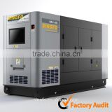 100KW electric motor silent diesel generators with 110C-44ATG2 engine and CE certification for sale