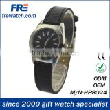 genuine leather belt watch for man and woman