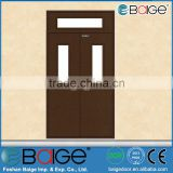 BG-F9002Steel fire exit door with panic push bar