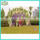 75-110cm artificial wisteria flower wedding stage decoration                                                                         Quality Choice