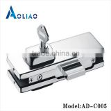 High quality clamp for frameless glass railing of glass door lock patch clamp patch fitting
