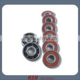 Spin 5 minutes 20 seconds ABEC-3 ABEC-5 ABEC-7 ABEC-9 ABEC-11 608RS 8*22*7 8mm bore skateboard long board scooter bearing