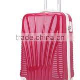 "20"" lady luggage pc+abs trolley durable luggage"