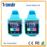 A8 POWER U8 Bluetooth Watch Smart Wristwatch Phone Mate for Smartphones IOS Apple Iphone Android Samsung S2/s3/s4/s5/note 2