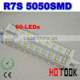 R7S 13W 5050 led Corn light 60leds 189mm bulbs energy saving 85~265V replacement for Halogen Flood Lamp