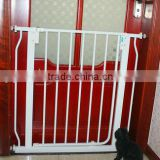 Baby fence walk through safety gate