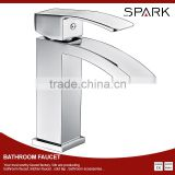 Vennus brass single level square waterfall bathroom faucet mixer SK-101