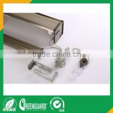 aluminum curtain rail for zebra blind and blind clutch for roller blind