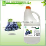 Professional Supplier Grape Flavored Fruit Concentrated Juice for Beverage Mixing