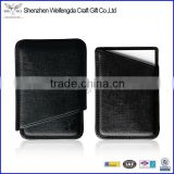 black genuine Leather Business/Credit Card holder Case hot sale
