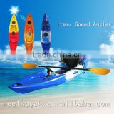 Professional Sit On Top Kayak plastic Fishing Boat speed ocean good quality hot sale