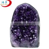 wholesale fengshui ornamental stone/raw crystal stone/real natural rough Uruguay amethyst crystal geode stone