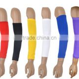 basketball arm support extended elbow pads nylon arm extended wristbands can be embroidery -12