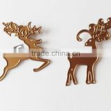 2016 hot deer shaped die cutting metal stencil for scrapbook                                                                         Quality Choice