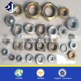 Main product zinc finished nut Good quality cold forging nut Standard and nonstandard nut